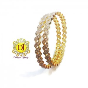 Buy American Diamond pair of bracelet Online