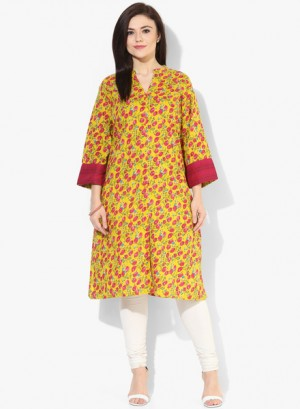Buy Alto Moda By PantaloonsMulticoloured Printed Kurta Online