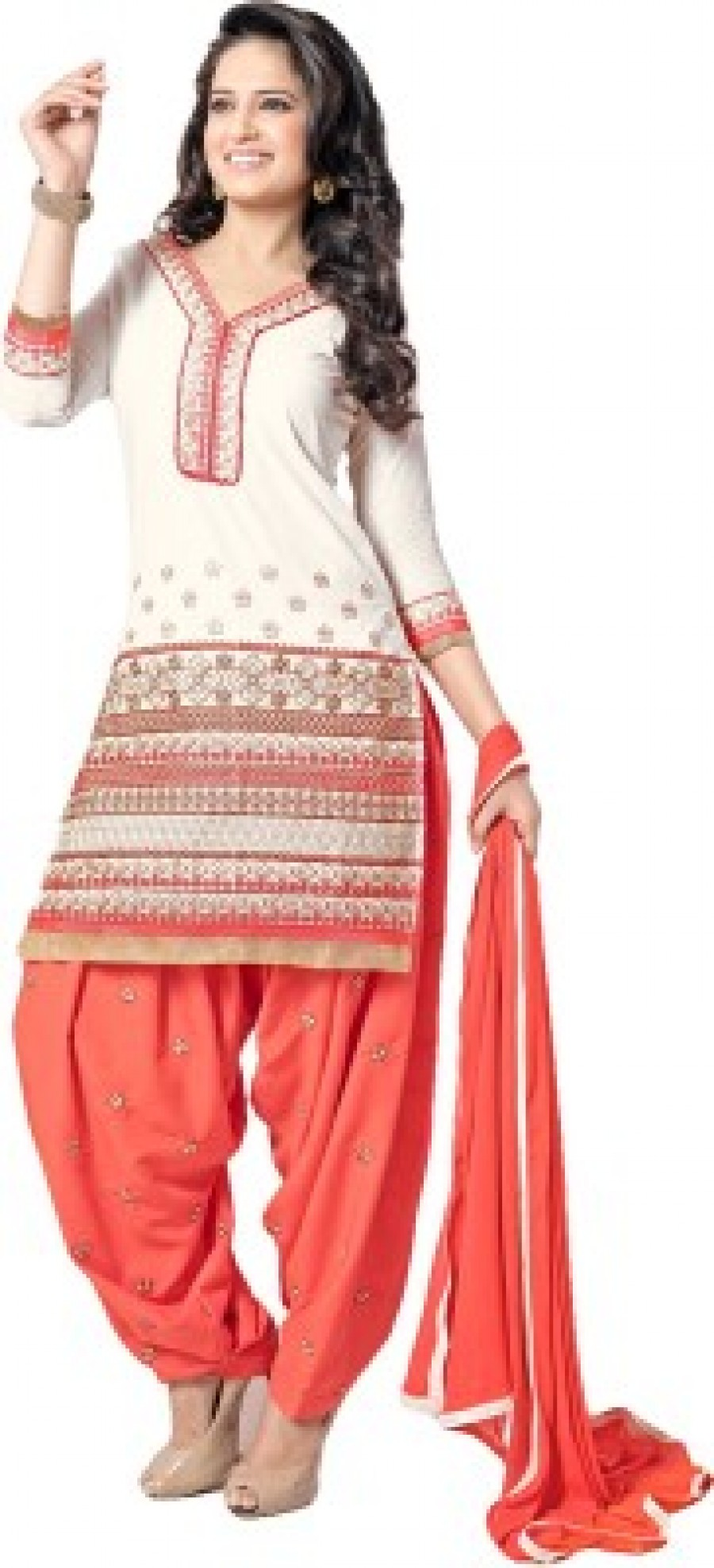Buy Utasav Fashion Embroidered Kurti & Patiyala Online