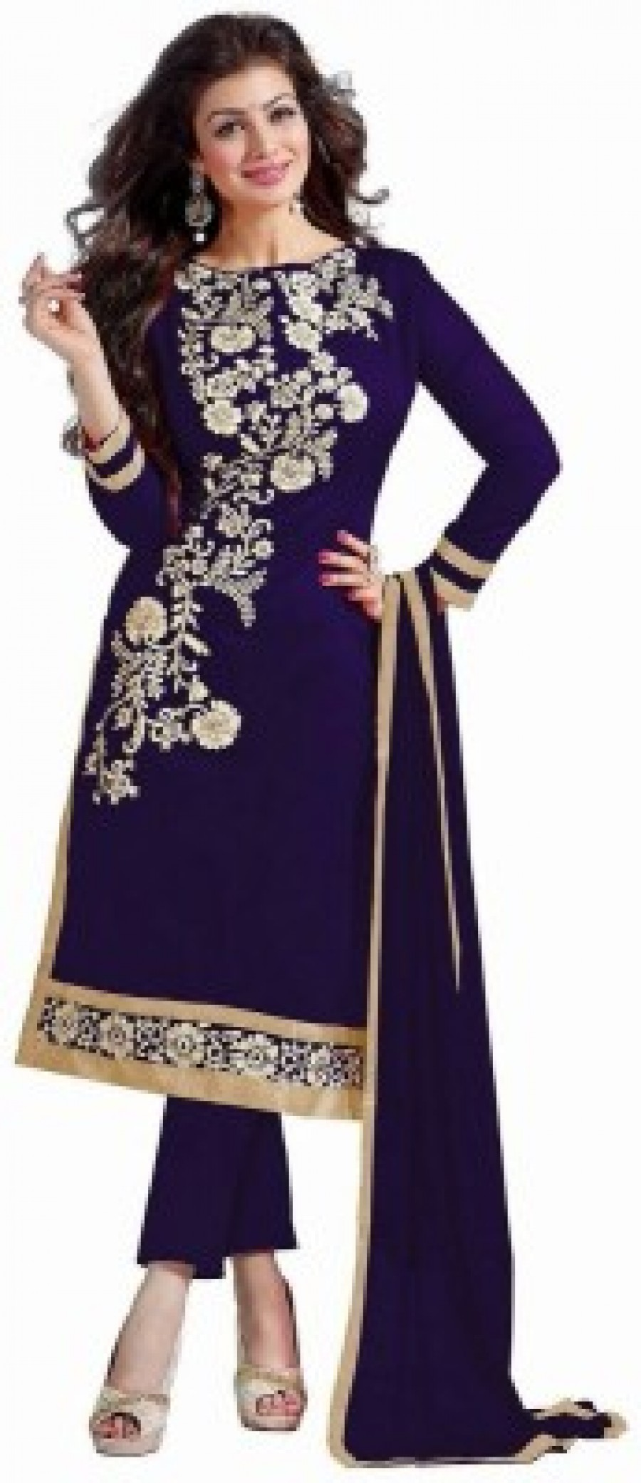 Buy VIHA Embroidered Kurta & Salwar Online