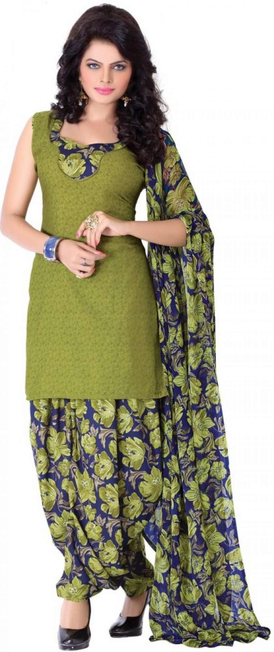 Buy The Four Hundred Printed Kurti & Patiyala Online