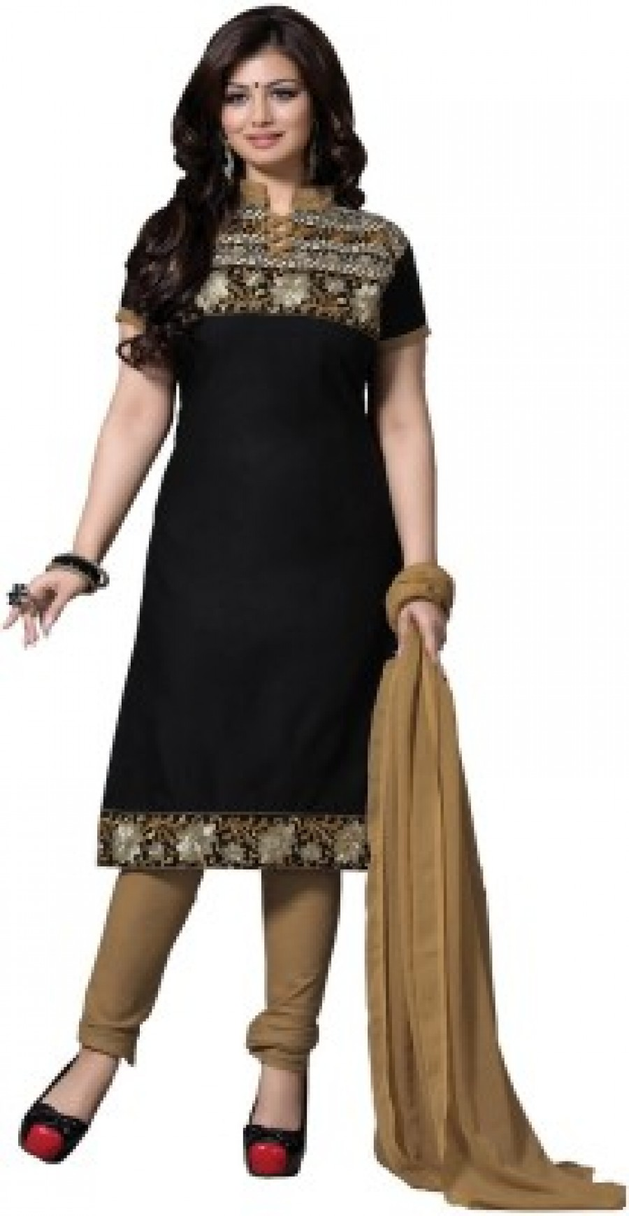 Buy Multi retail Embroidered Kurta & Salwar Online