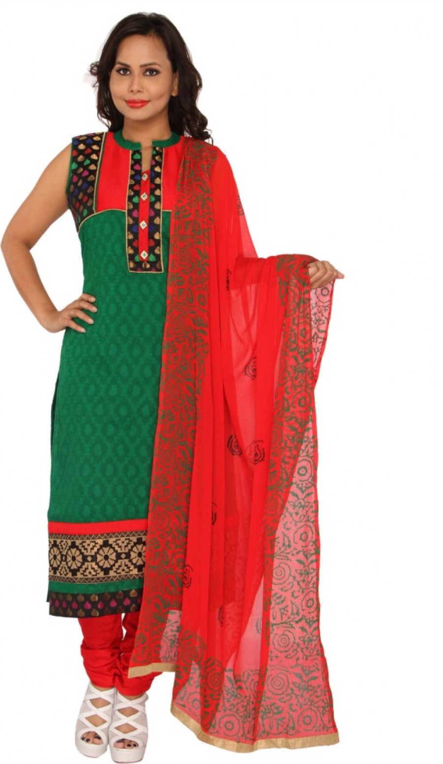 Buy Sanskruti Creations Self Design Online