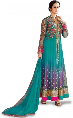 Buy Navya Embroidered Kurti & Salwar Online