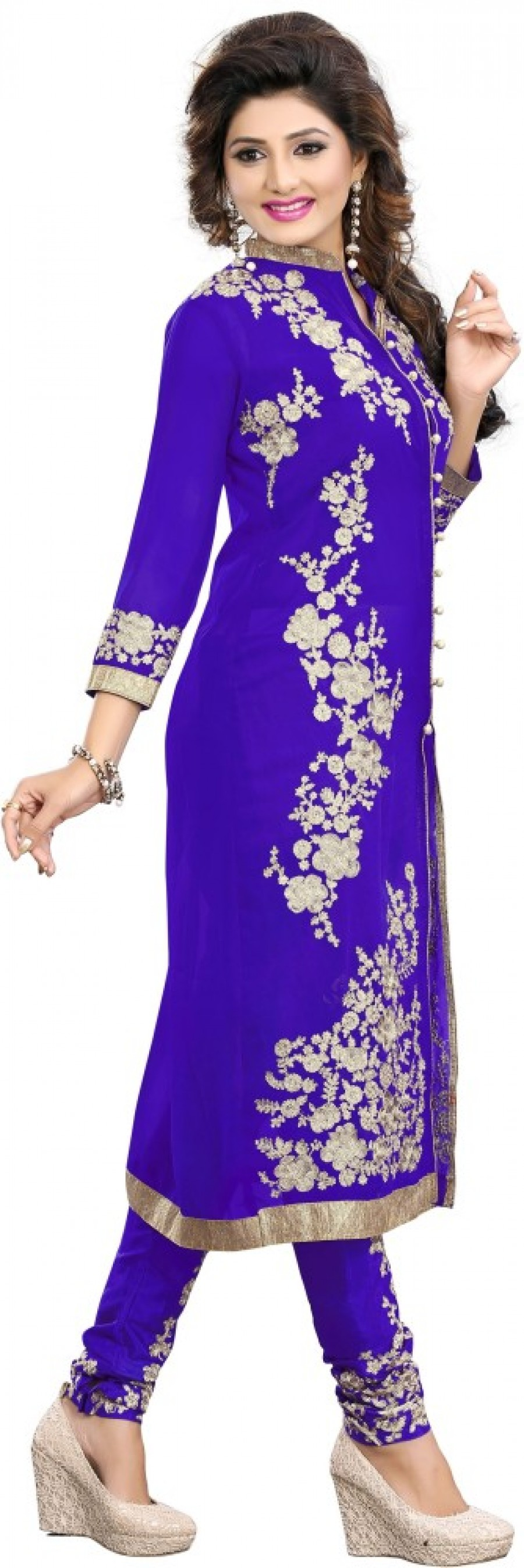 Buy Dharmnandan Embroidered  Online