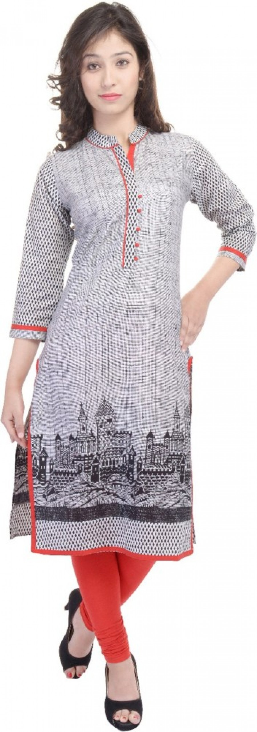 Buy Fab Rajasthan Unique Arts Casual Printed Women Kurti Online