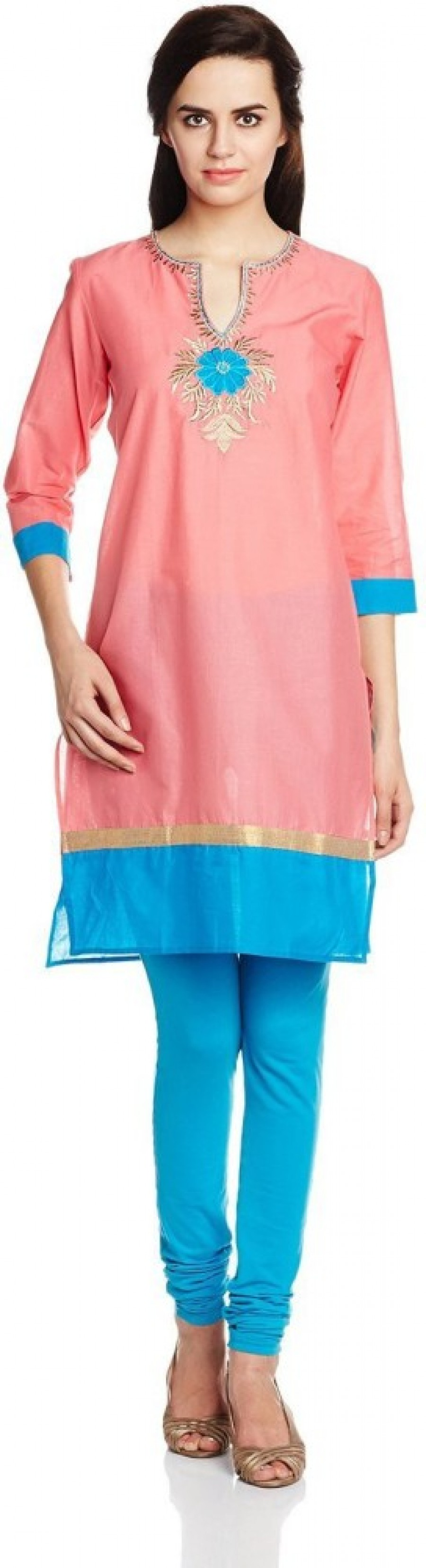 Buy Atayant Casual Embroidered Women Kurti Online