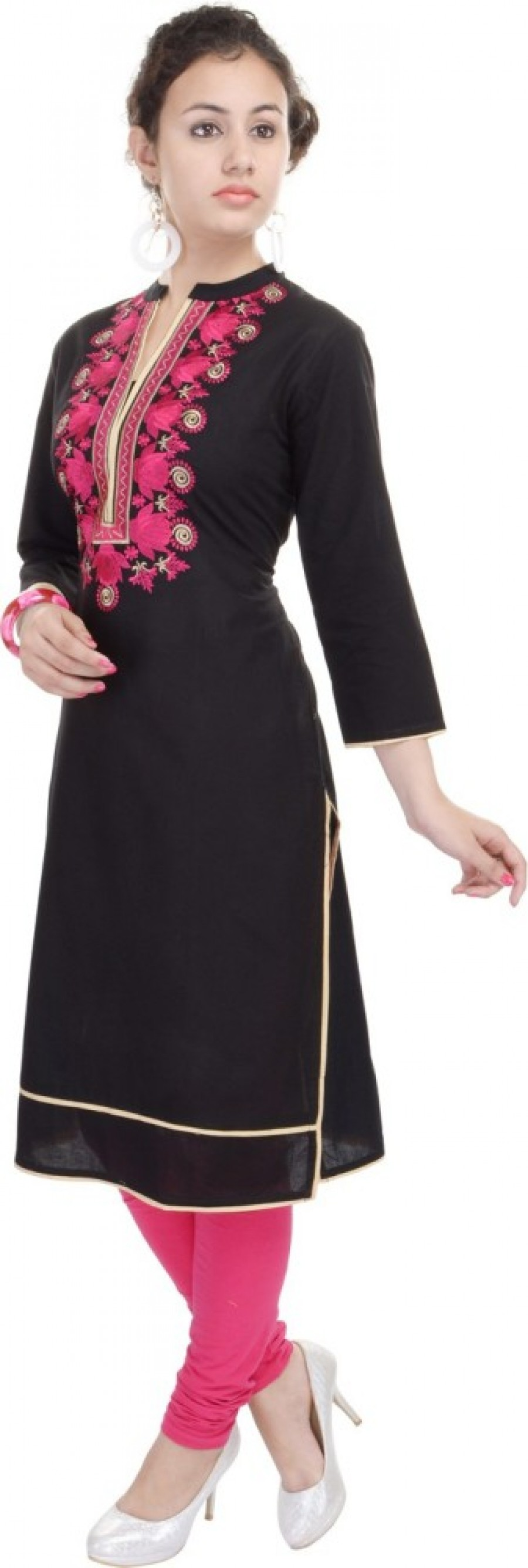 Buy Heritage Jaipur Casual Embroidered Women Kurti Online