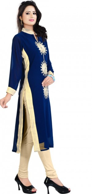 Buy BHAVIKA FASHION Casual Embroidered Women Kurti Online