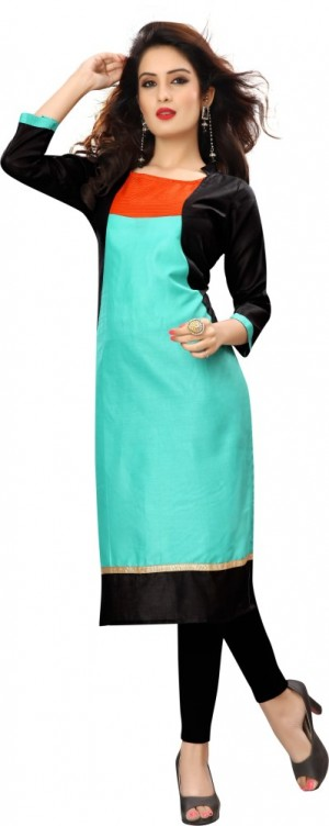 Buy Sukanyaa Casual Self Design Women Kurti Online