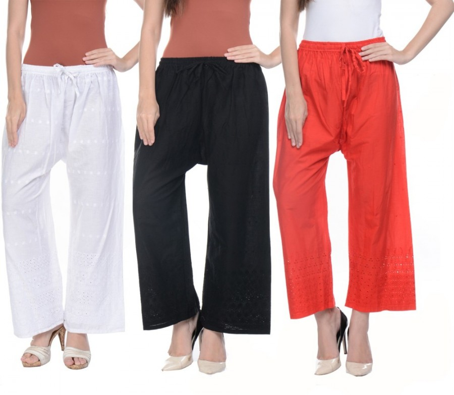 Buy Aarushi Fashion Regular Fit Women Multicolor Trousers Online