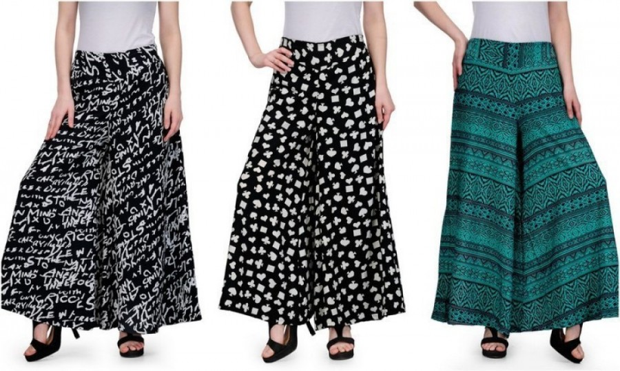 Buy Samayra Regular Fit Women Multicolor Trousers Online