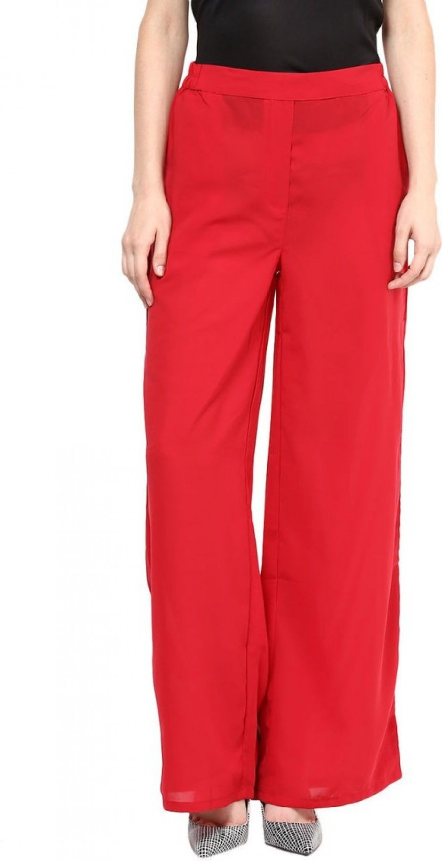 Buy Candies By Pantaloons Regular Fit Women Red Trousers Online