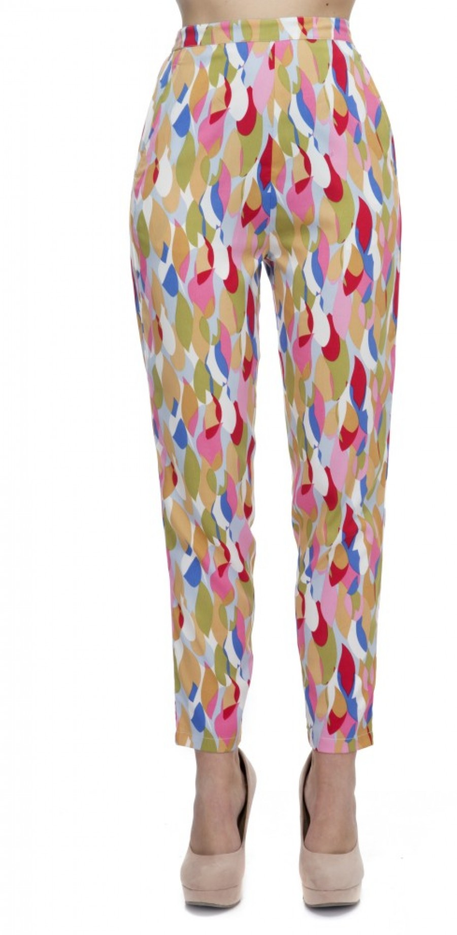 Buy Zaivaa Regular Fit Women Pink Trousers Online