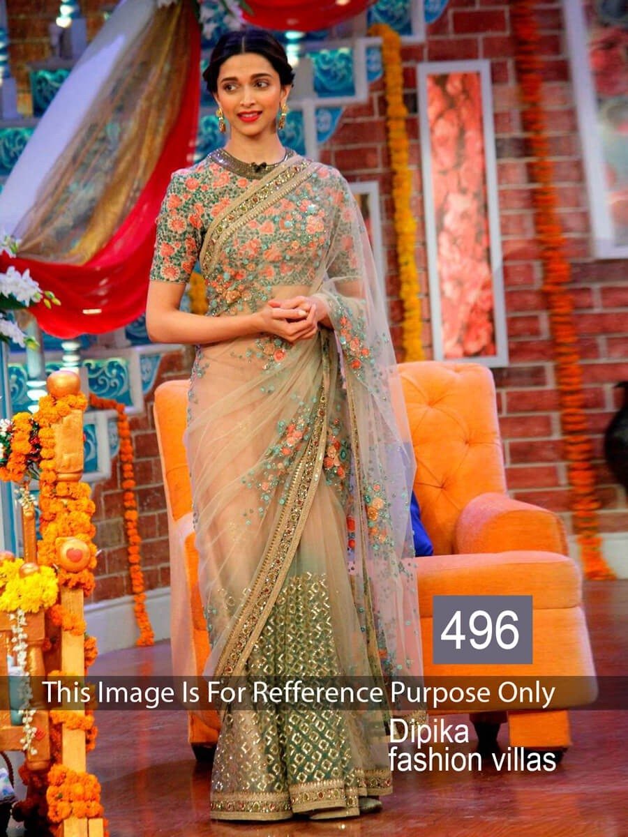 Shopping For Dipika Padukone Designer Saree Online 507459