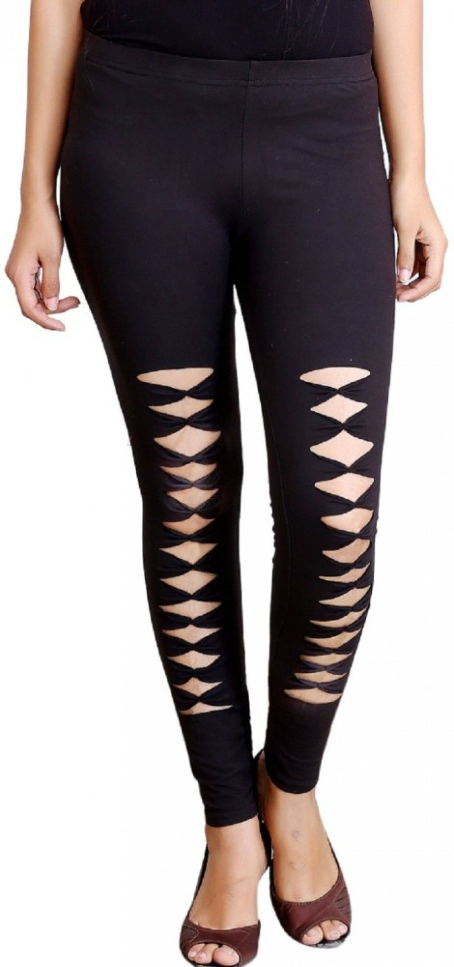 Buy Blinkin Women, Girls Black Leggings Online