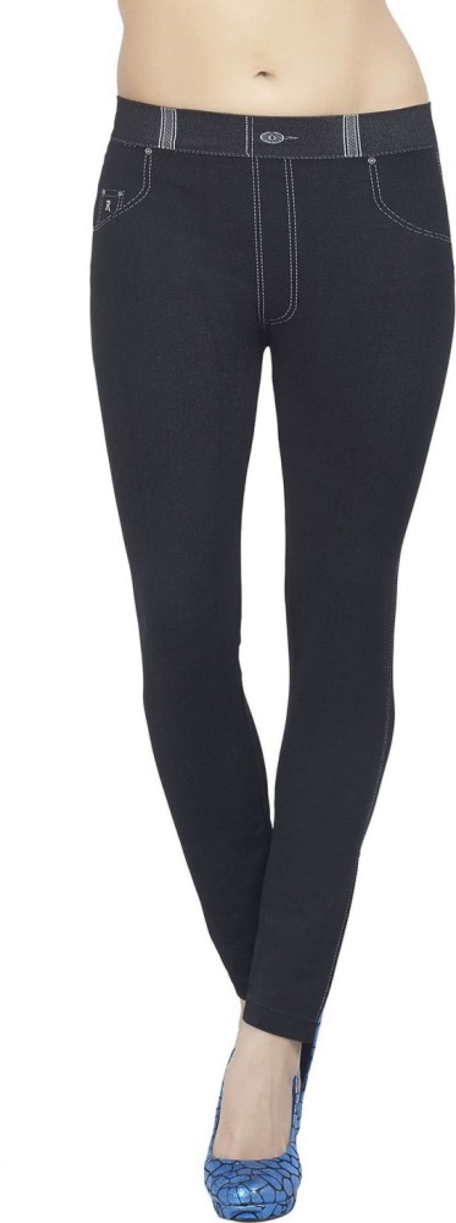 Buy Bellafonte Women Black Jeggings Online