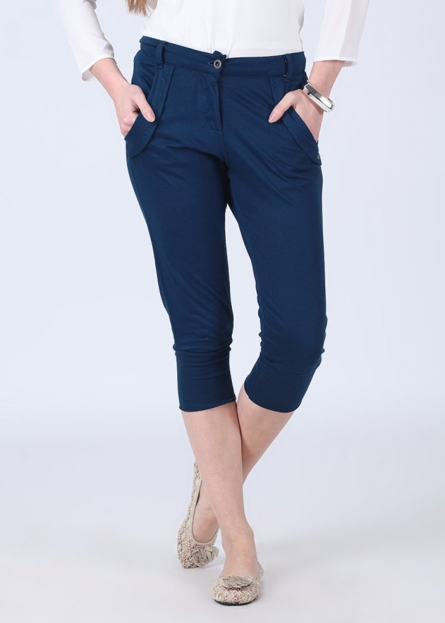 Buy Riot Jeans Women Blue Leggings Online
