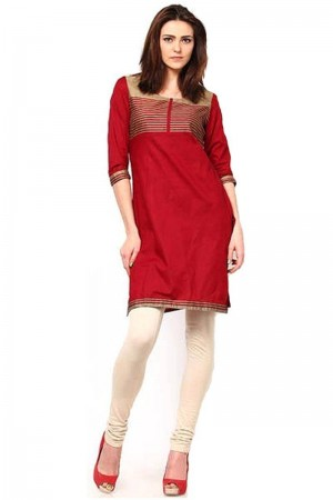 Buy Rich red kurti  Online
