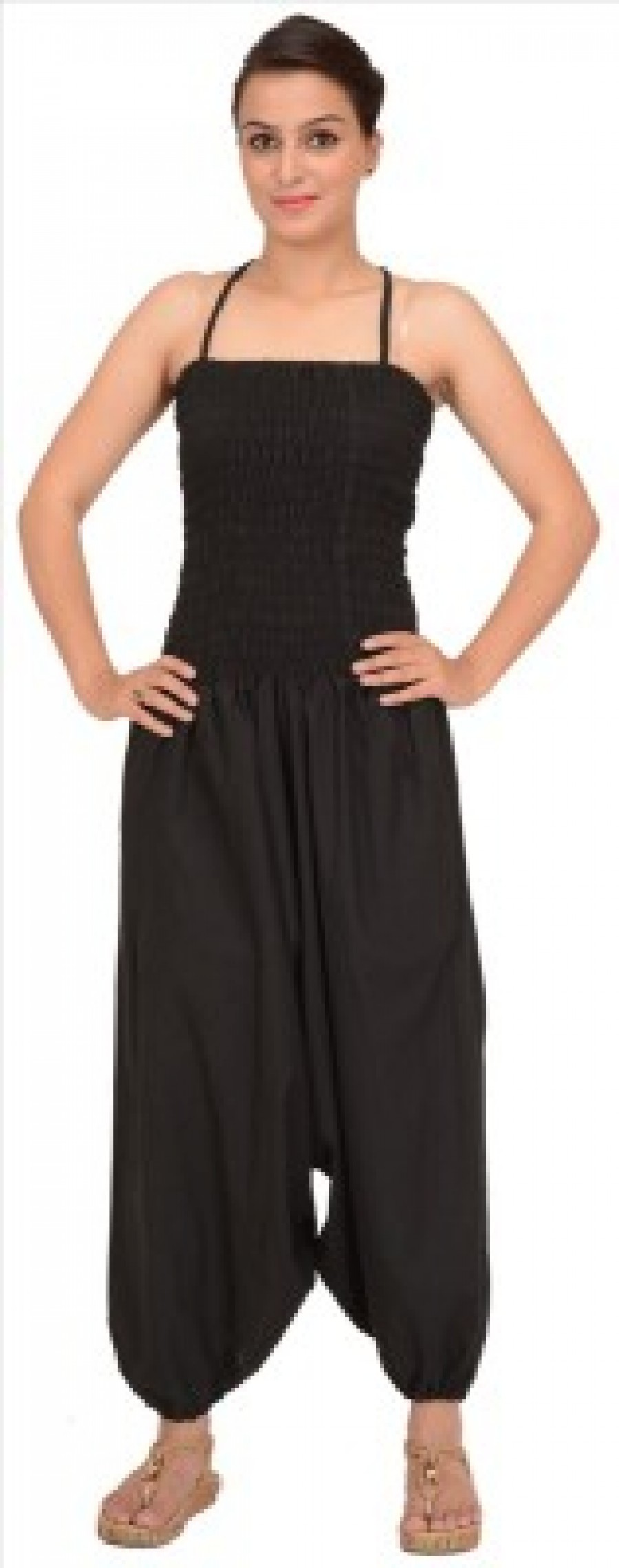 Buy Skirts & Scarves Solid Womens Jumpsuit Online