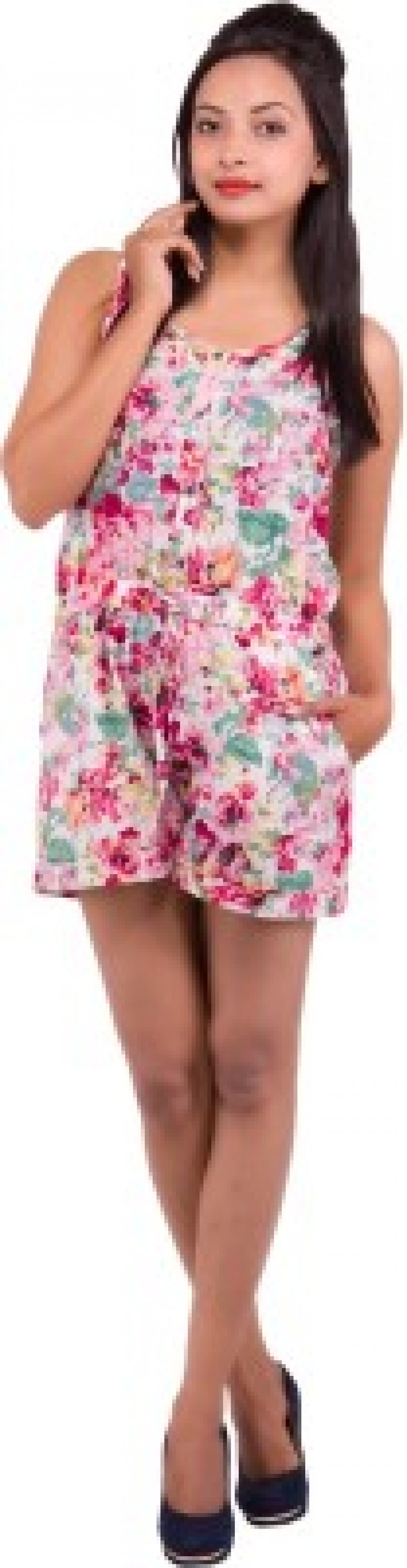 Buy Goodwill Impex Floral Print Womens Jumpsuit Online