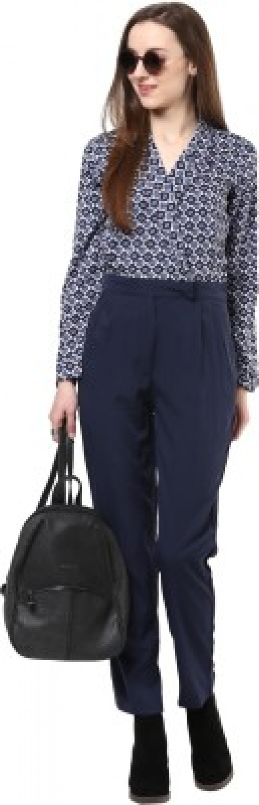Buy Magnetic Designs Printed Womens Jumpsuit Online
