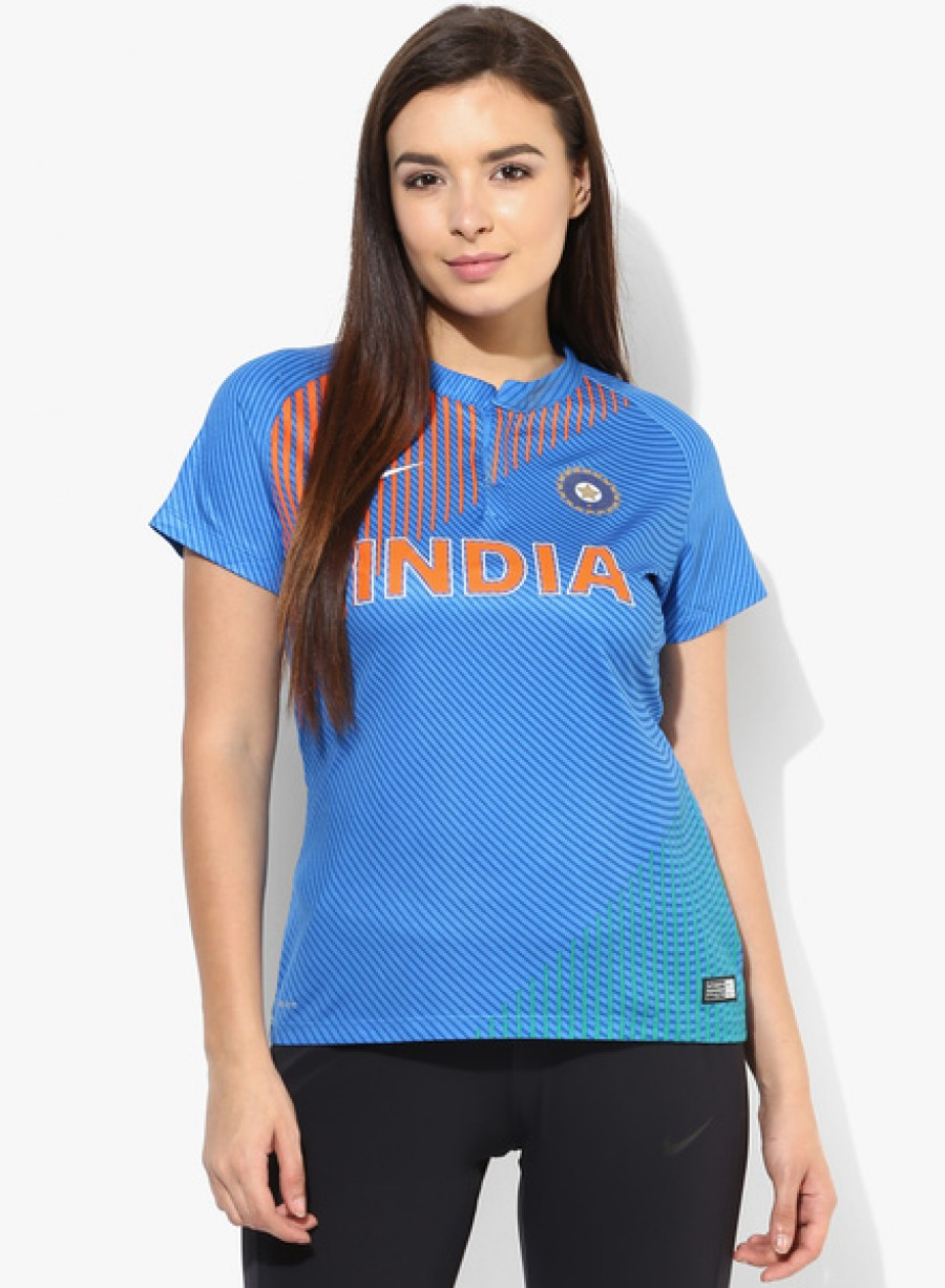 Buy NikeIndia Cricket Replica T20 Jersey Online