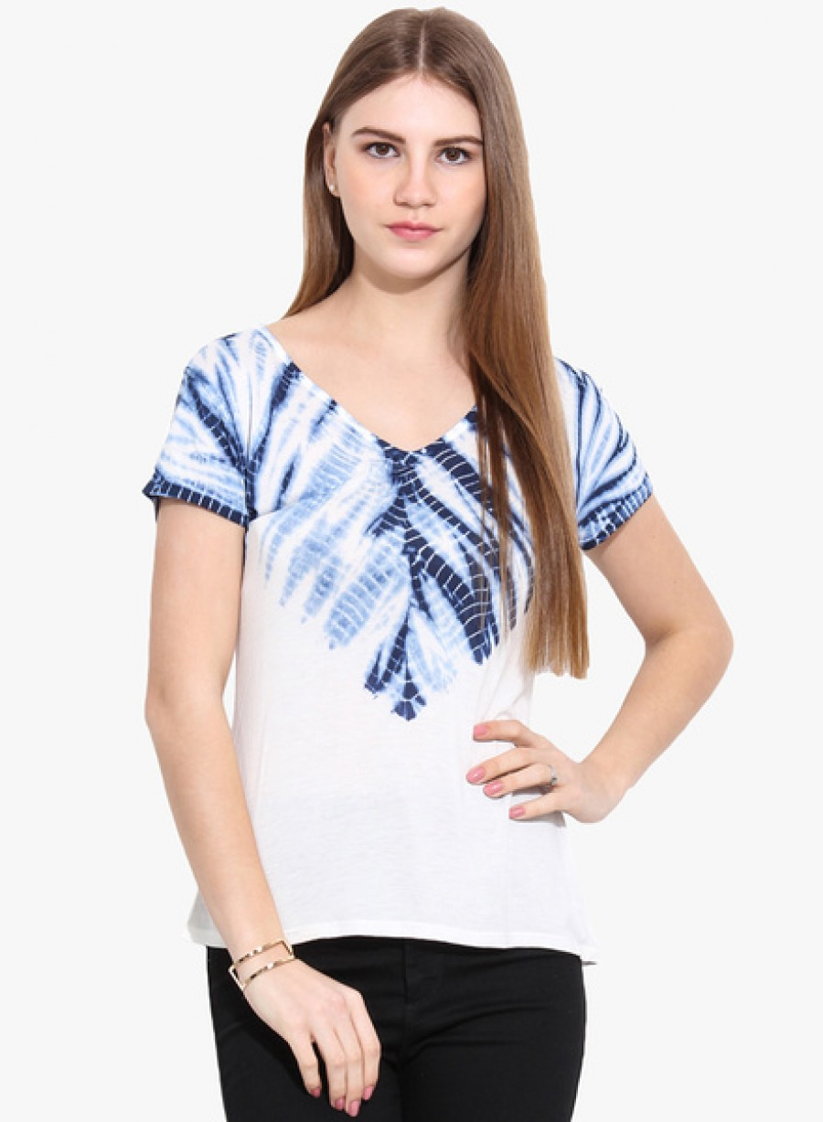 Buy Why KnotOff White Printed T Shirt Online