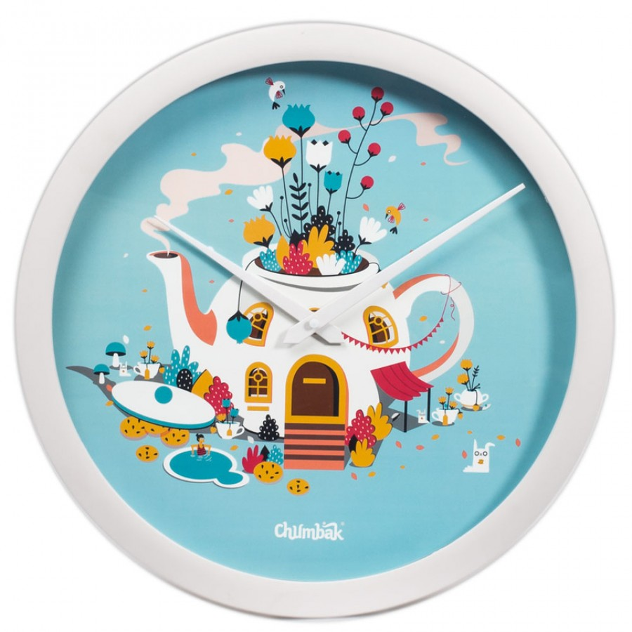 Buy I Am A Teapot Wall Clock Online