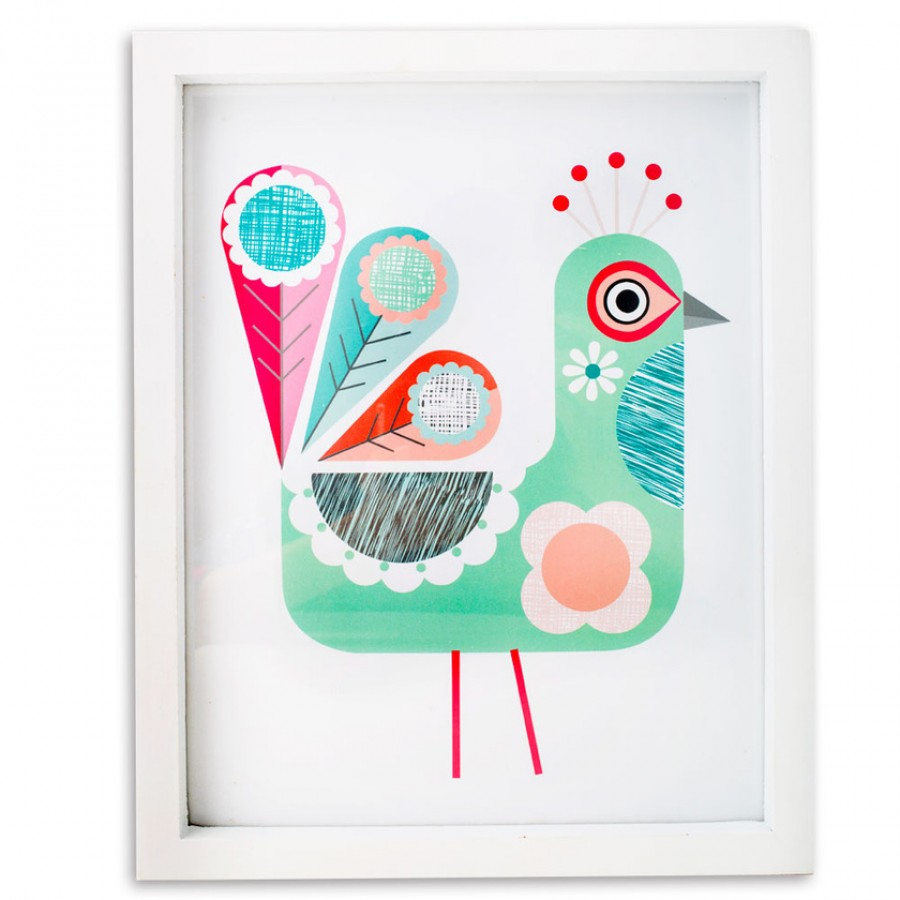 Buy Crafted Bird Wall Hanging Online