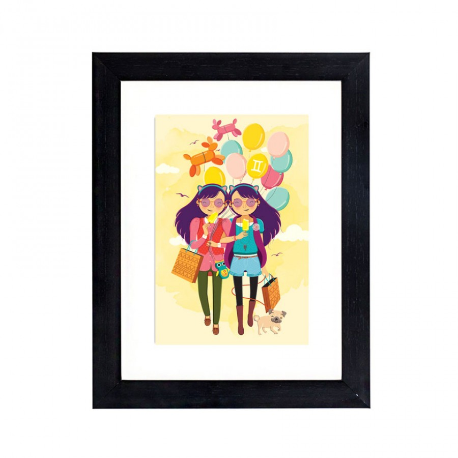 Buy Gemini Genius Miniature Wall Art Online