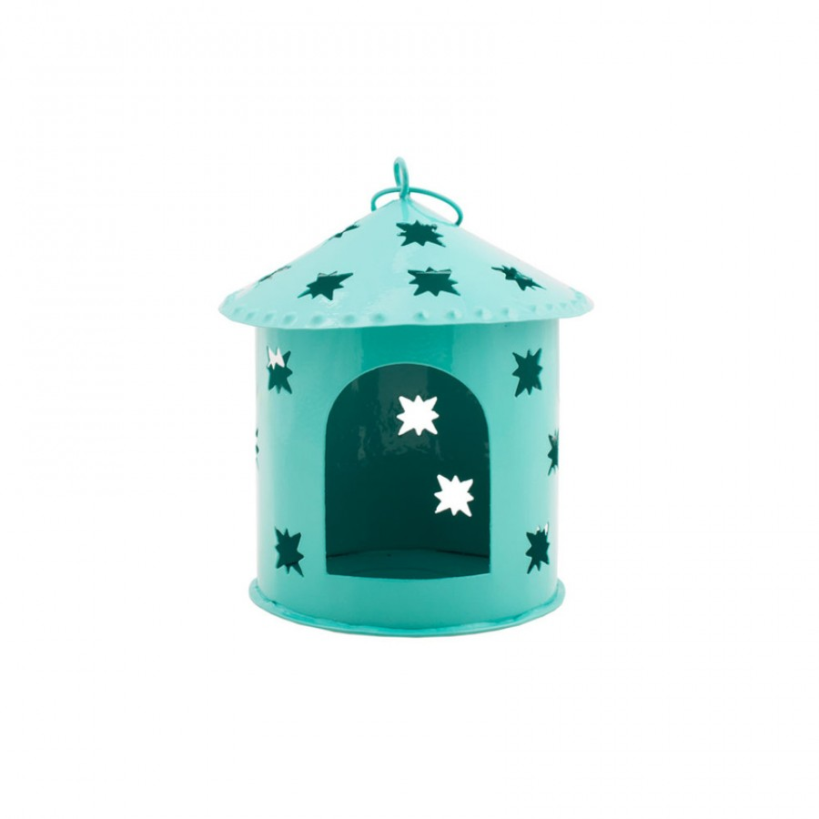 Buy Home Sweet Home Tea Light Holder - Teal Online
