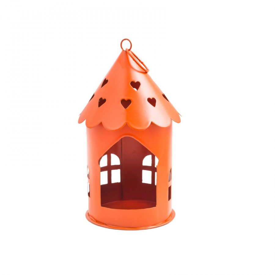 Buy Sweet Heart Tea Light Holder - Orange Online