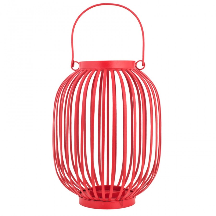 Buy Gentle Glow Tealight Holder Red Online