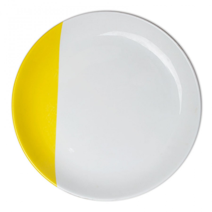 Buy Colour Dip Dinner Plate - Yellow Online