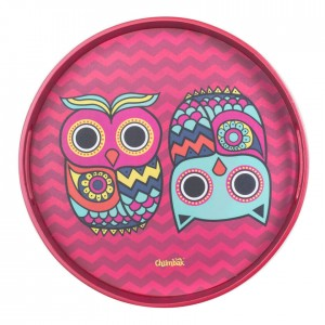 Buy The Chumbak Owl Round Tray Online