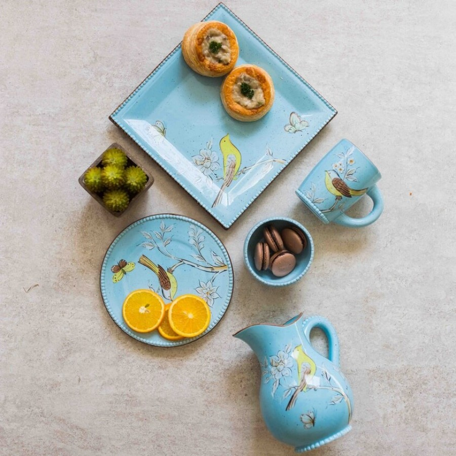 Buy Flora Bird Dinner Set Online