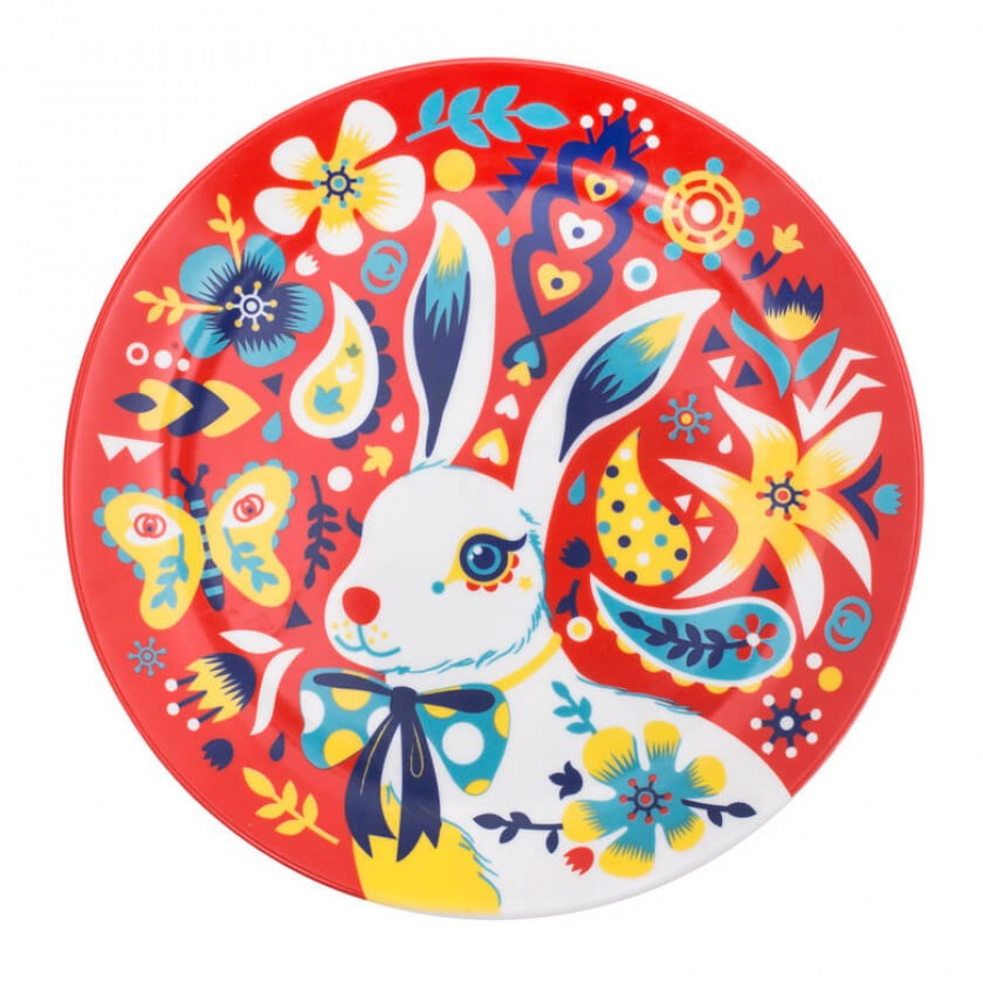 Buy Down The Rabbit Hole Dinner Plate Online