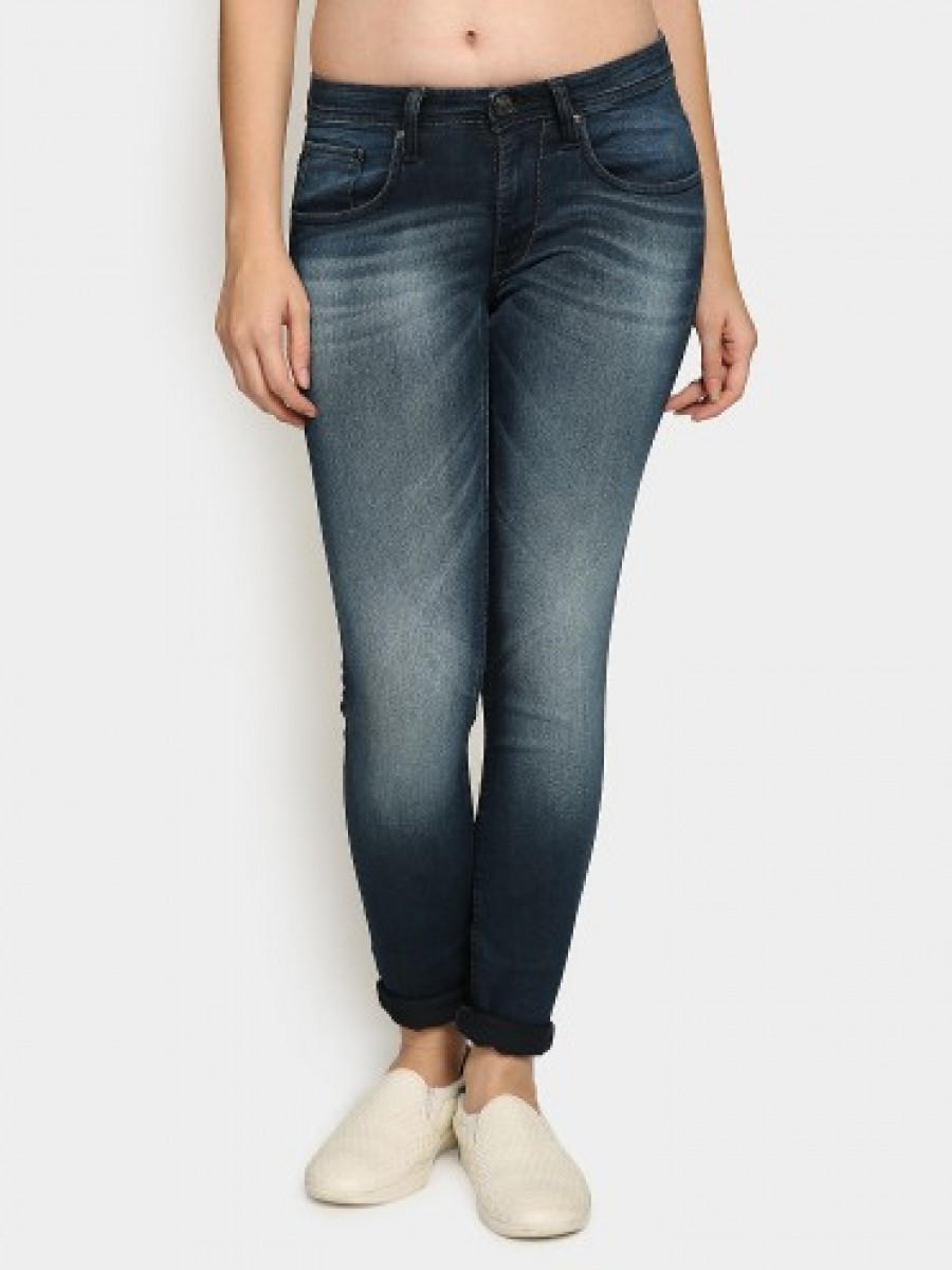 Buy Lee Women Dermy Dark Blue Skinny Fit Jeans Online