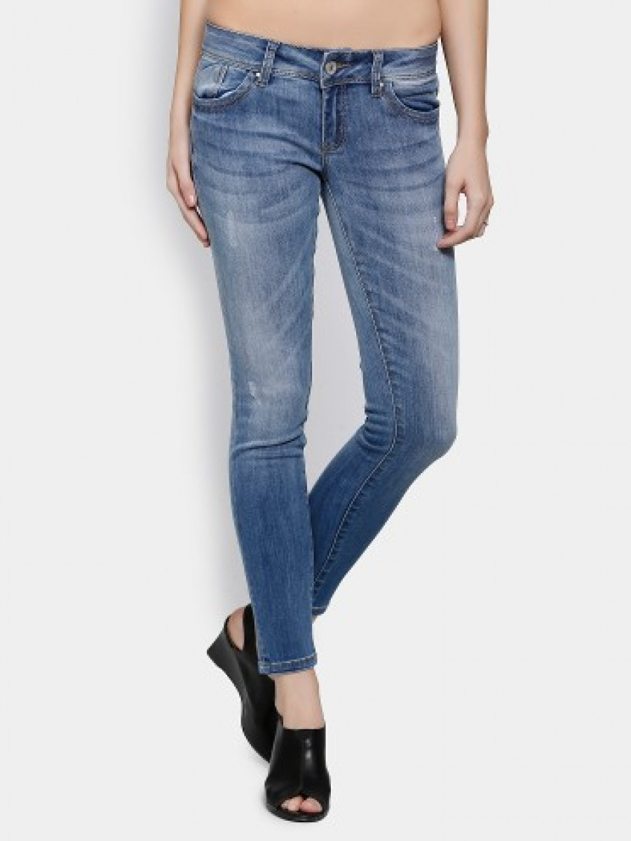 Buy Deal Jeans Women Blue Regular Fit Jeans Online