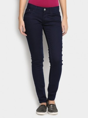 Buy Lee Women Navy Jenny Skinny Fit Jeans Online