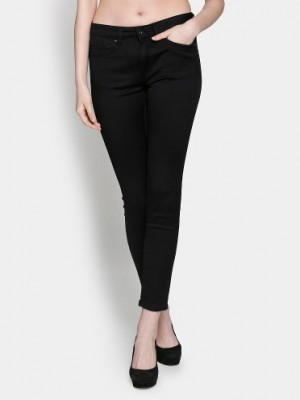 Buy Only Women Black Skinny Fit Jeans Online