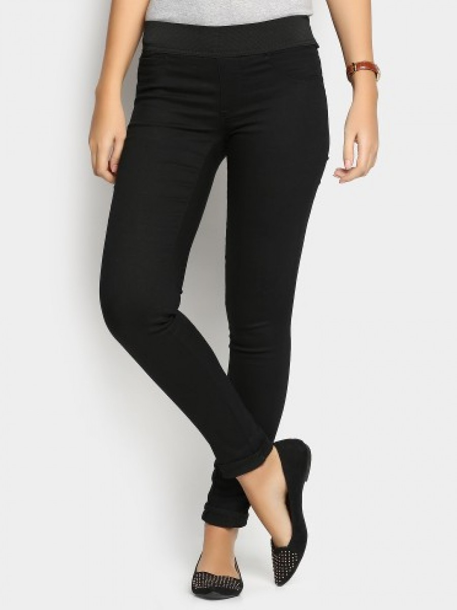 Buy Lee Women Black Linda Skinny Fit Jeans Online