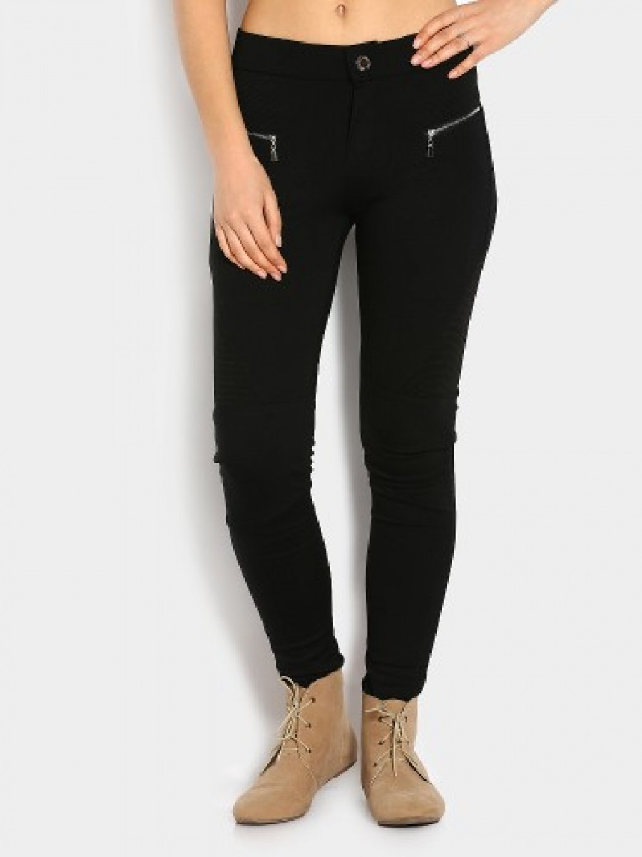 Buy abof Women Black Jeggings Online