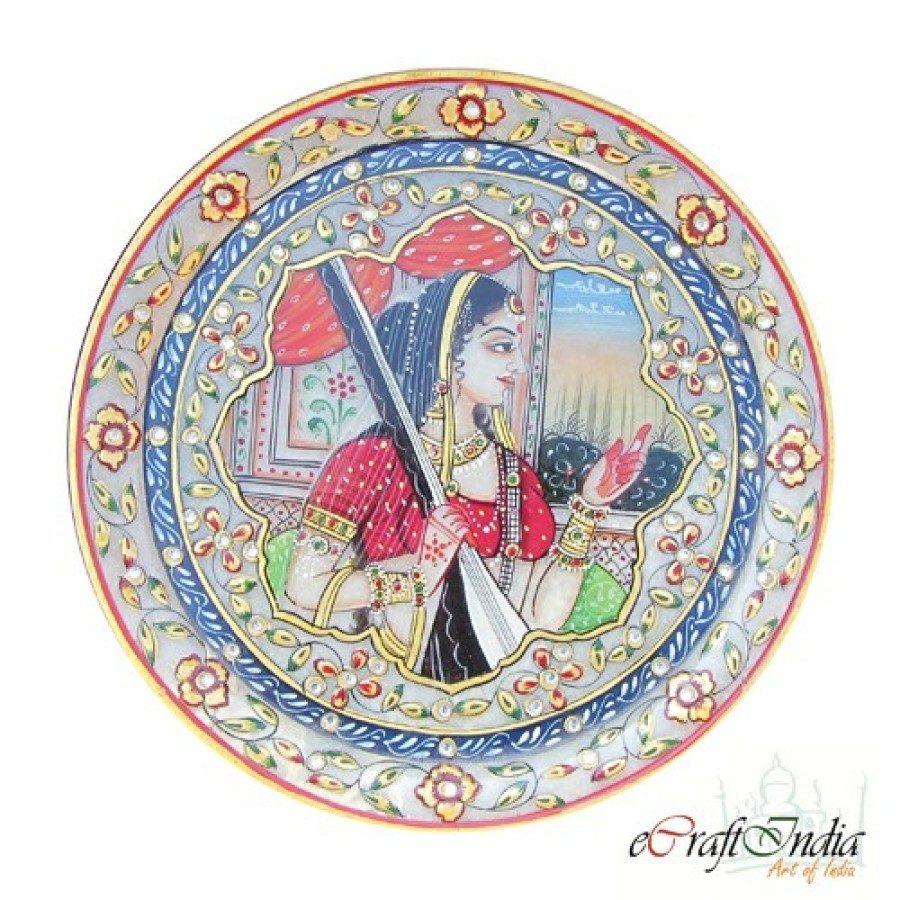 Buy Lady with Sitar Online