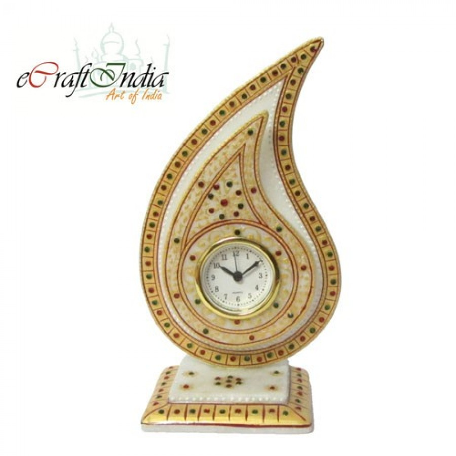 Buy Gold Colored Trophy Clock Online