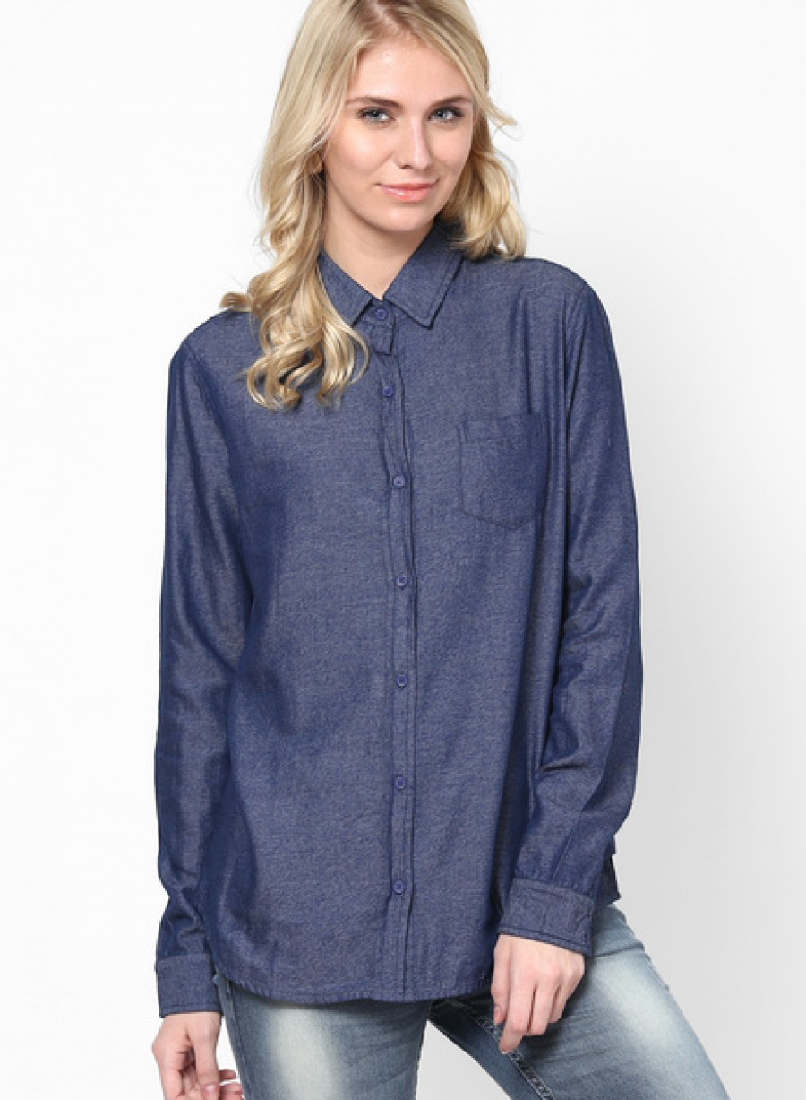 Buy Arrow WomanBlue Shirt Online