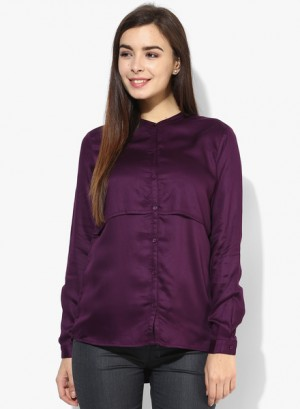 Buy Arrow WomanPurple Shirt Online