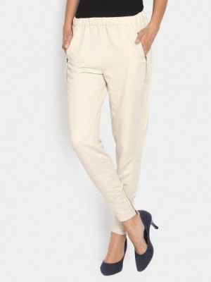 Buy Vero Moda Women Beige Casual Relaxed Fit Pants  Online