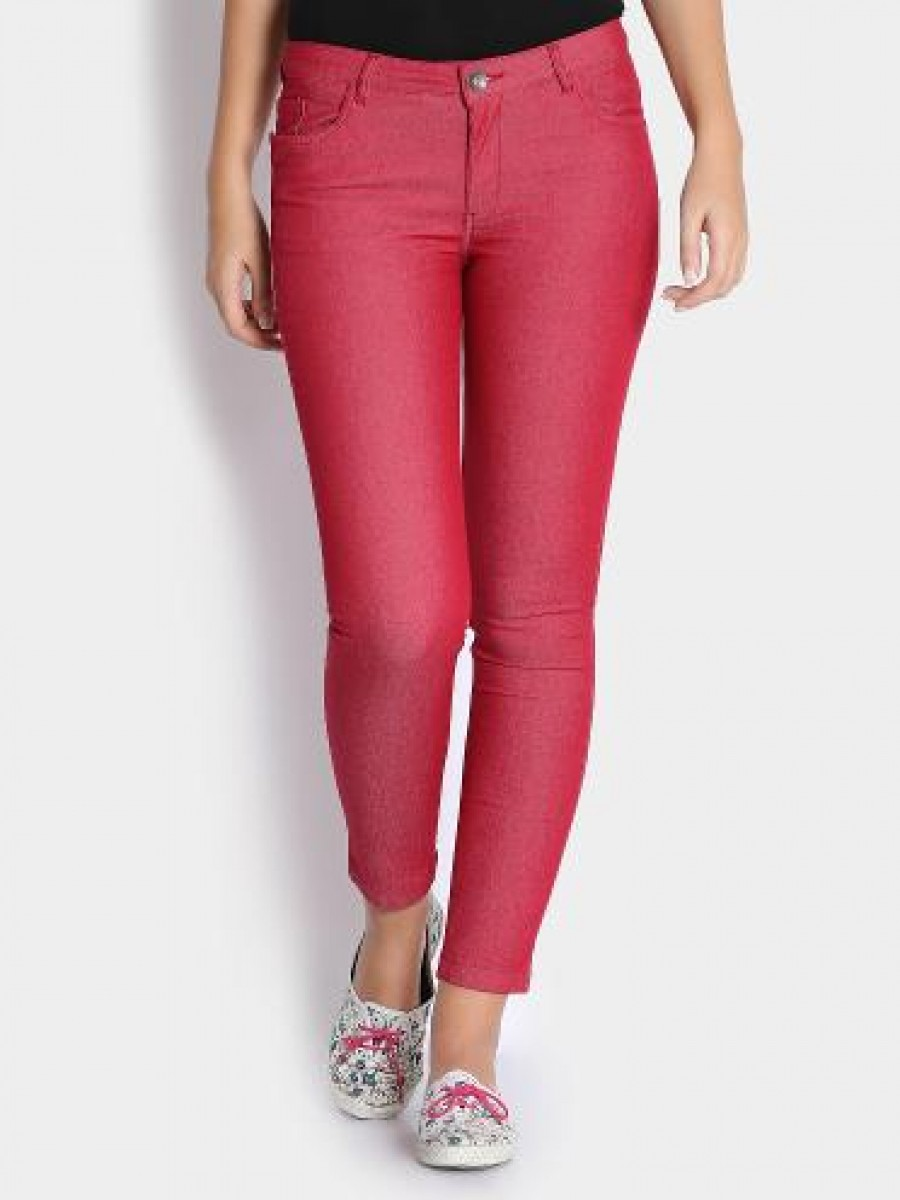 Buy United Colors of Benetton Women Pink Slim Fit  Online